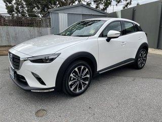 2021 Mazda CX-3 DK2W7A sTouring SKYACTIV-Drive FWD Snowflake White 6 Speed Sports Automatic Wagon.