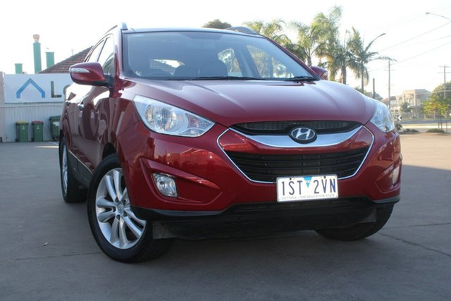 Used Hyundai ix35 LM Highlander (AWD) West Footscray, 2010 Hyundai ix35 LM Highlander (AWD) Red 6 Speed Automatic Wagon