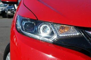 2016 Honda Jazz GF MY17 VTi Red 1 Speed Constant Variable Hatchback.