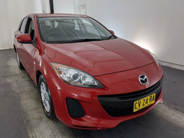 Used Mazda 3 BM5476 Neo SKYACTIV-MT Maryville, 2013 Mazda 3 BM5476 Neo SKYACTIV-MT Red 6 Speed Manual Hatchback