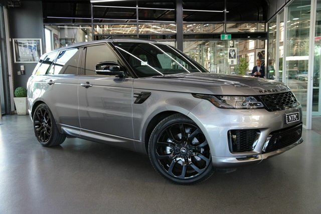 Used Land Rover Range Rover Sport L494 20MY SE North Melbourne, 2020 Land Rover Range Rover Sport L494 20MY SE Grey 8 Speed Sports Automatic Wagon