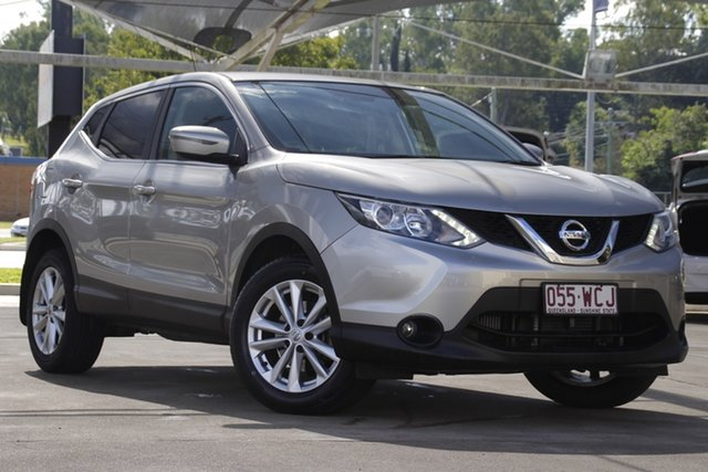 Used Nissan Qashqai J11 TS Bundamba, 2015 Nissan Qashqai J11 TS Grey 1 Speed Constant Variable Wagon