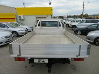 2009 Toyota Hilux KUN26R 08 Upgrade SR (4x4) White 4 Speed Automatic Cab Chassis