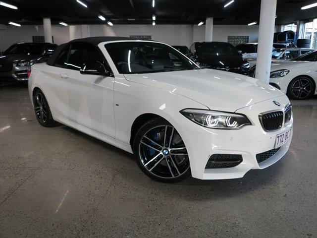 Used BMW 2 Series F23 LCI M240I Albion, 2019 BMW 2 Series F23 LCI M240I White 8 Speed Sports Automatic Convertible