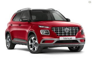 2021 Hyundai Venue QX.V3 MY21 Elite Red 6 Speed Automatic Wagon