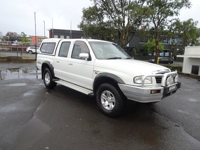 Used Mazda Bravo B2500 DX Bravo Plus Nowra, 2003 Mazda Bravo B2500 DX Bravo Plus White 5 Speed Manual Utility