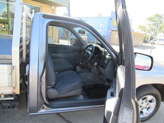 2009 Mazda BT-50 UN DX (4x2) Silver 5 Speed Manual Cab Chassis