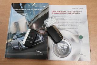 2015 Jaguar XF X250 MY15 Premium Luxury Red/Black 8 Speed Sports Automatic Sedan