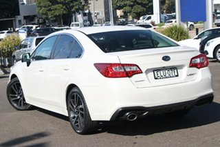 2020 Subaru Liberty B6 MY20 2.5i CVT AWD Premium Crystal White 6 Speed Constant Variable Sedan.