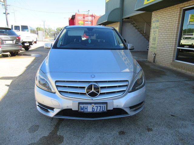 Used Mercedes-Benz B200 CDI W246 B200 Mandurah, 2014 Mercedes-Benz B200 CDI W246 B200 Silver 7 Speed Automatic Hatchback