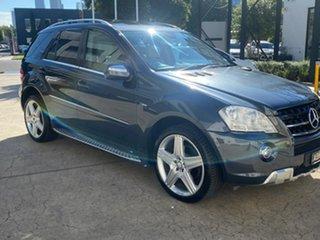 2010 Mercedes-Benz M-Class W164 MY10 ML300 CDI BlueEFFICIENCY AMG Sports Grey 7 Speed
