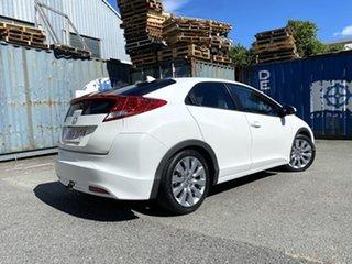 2012 Honda Civic 9th Gen VTi-L White 5 Speed Sports Automatic Hatchback.