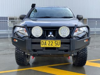 2017 Mitsubishi Triton MQ MY17 GLX Double Cab Grey 6 Speed Manual Utility.