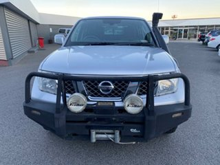 2009 Nissan Navara D40 ST Silver 5 Speed Automatic Utility