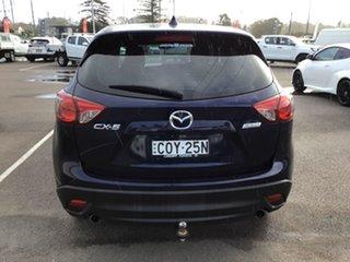 2013 Mazda CX-5 KE1071 MY13 Maxx SKYACTIV-MT Blue 6 Speed Manual Wagon