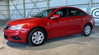 2011 Holden Cruze JG CD Red 6 Speed Sports Automatic Sedan.