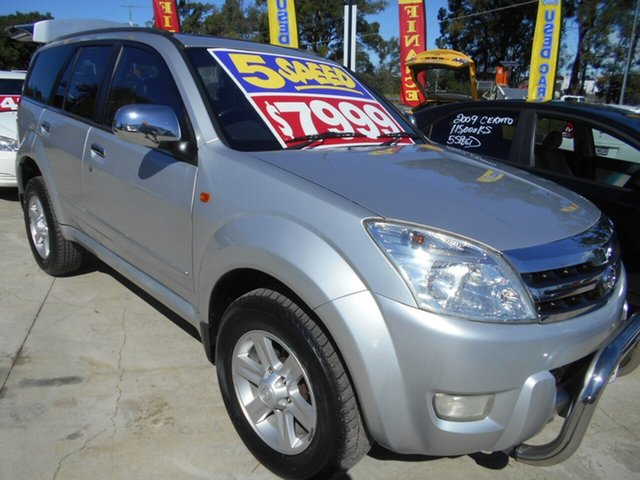 Used Great Wall X240 CC6460KY Springwood, 2010 Great Wall X240 CC6460KY Silver 5 Speed Manual Wagon