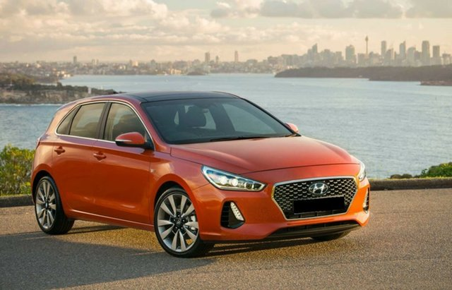 Used Hyundai i30 PD MY18 SR D-CT Premium Ferntree Gully, 2017 Hyundai i30 PD MY18 SR D-CT Premium Orange 7 Speed Sports Automatic Dual Clutch Hatchback