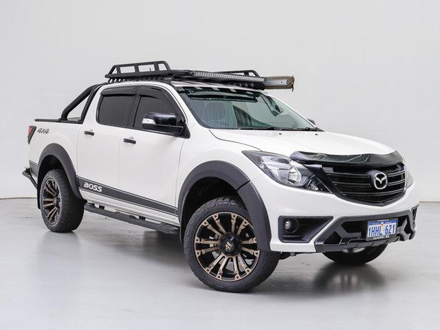 Used Mazda BT-50  GT (4x4) (5Yr), 2019 Mazda BT-50 GT (4x4) (5Yr) White 6 Speed Automatic Dual Cab Utility