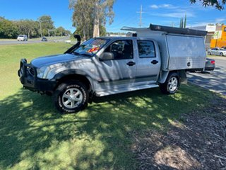 2006 Holden Rodeo RA MY06 LT Crew Cab Silver 5 Speed Manual Utility