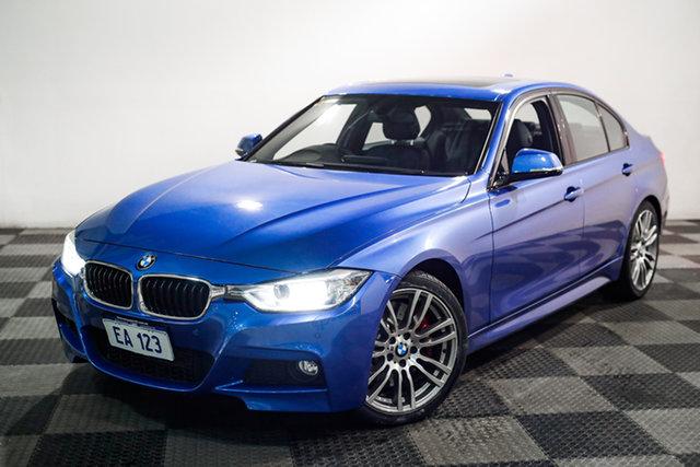 Used BMW 3 Series F30 MY0813 328i M Sport Edgewater, 2013 BMW 3 Series F30 MY0813 328i M Sport Blue 8 Speed Sports Automatic Sedan