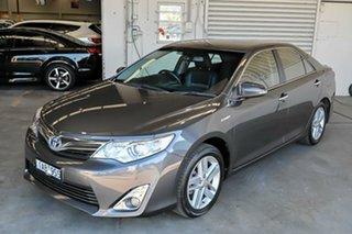 2013 Toyota Camry AVV50R Hybrid HL Grey 1 Speed Constant Variable Sedan Hybrid