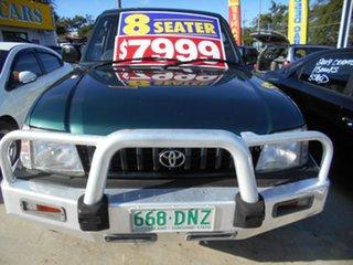 1996 Toyota Landcruiser Prado VZJ95R GXL Green 4 Speed Automatic Wagon.
