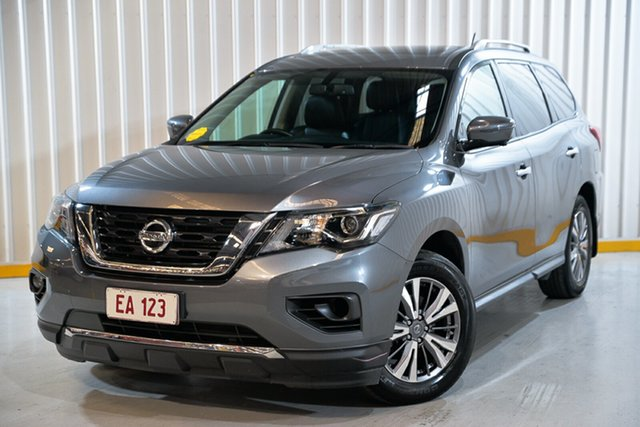 Used Nissan Pathfinder R52 Series II MY17 Ti X-tronic 4WD Hendra, 2017 Nissan Pathfinder R52 Series II MY17 Ti X-tronic 4WD Grey 1 Speed Constant Variable Wagon