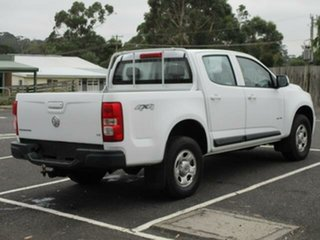 2012 Holden Colorado RG Turbo LX 4x4 White Automatic Dual Cab Utility