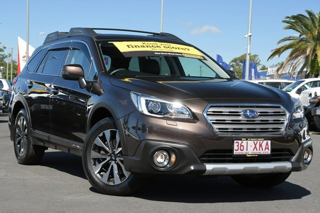 Used Subaru Outback B6A MY17 2.0D CVT AWD Premium Aspley, 2017 Subaru Outback B6A MY17 2.0D CVT AWD Premium Brown 7 Speed Constant Variable Wagon