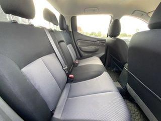 2017 Mitsubishi Triton MQ MY17 GLX Double Cab Grey 6 Speed Manual Utility