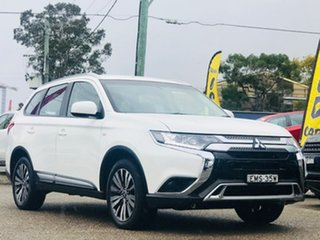 2019 Mitsubishi Outlander ZL MY20 ES AWD White 6 Speed Constant Variable Wagon