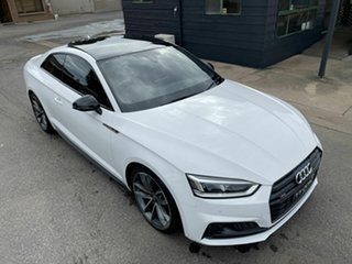 2017 Audi S5 F5 MY18 Tiptronic Quattro White 8 Speed Sports Automatic Coupe