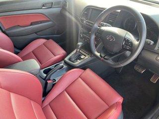 2017 Hyundai Elantra AD MY17 SR DCT Turbo Sparkling Metal 7 Speed Sports Automatic Dual Clutch Sedan.
