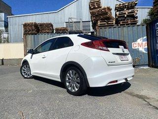 2012 Honda Civic 9th Gen VTi-L White 5 Speed Sports Automatic Hatchback