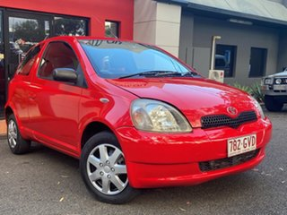 1999 Toyota Echo NCP10R Red 5 Speed Manual Hatchback.