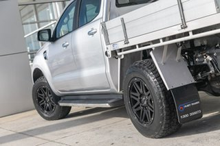 2017 Ford Ranger PX MkII XLT Double Cab 4x2 Hi-Rider Silver 6 Speed Sports Automatic Utility