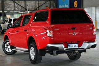 2017 Mitsubishi Triton MQ MY17 GLX Plus (4x4) Rose Red 5 Speed Automatic Club Cab Pickup.
