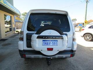 2007 Mitsubishi Pajero NS Exceed White 5 Speed Sports Automatic Wagon