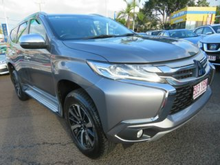 2018 Mitsubishi Pajero Sport QE MY18 GLS Grey 8 Speed Sports Automatic Wagon.
