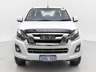 2018 Isuzu D-MAX TF MY18 LS-M HI-Ride (4x4) White 6 Speed Automatic Crew Cab Utility.