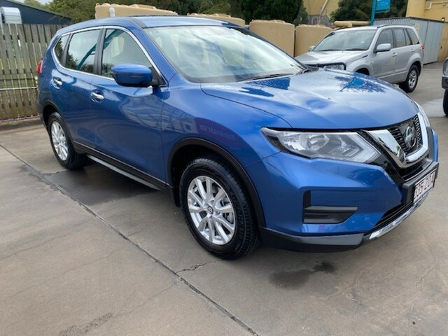 Used Nissan X-Trail T32 MY20 ST (4x2) Toowoomba, 2020 Nissan X-Trail T32 MY20 ST (4x2) Blue Continuous Variable Wagon