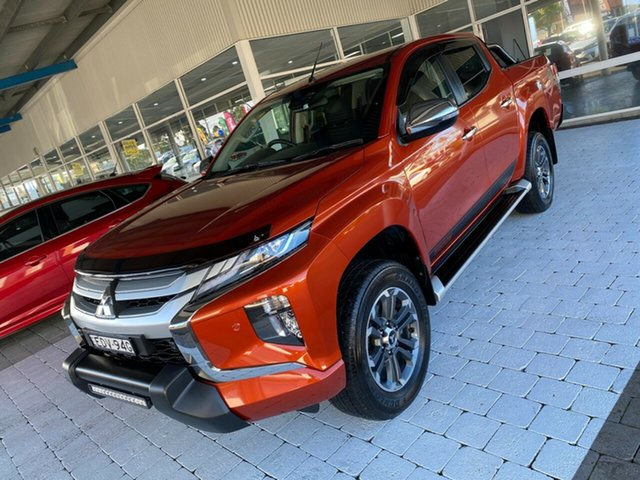 Used Mitsubishi Triton MY20 Toby Price Edition Taree, 2019 Mitsubishi Triton MY20 Toby Price Edition Orange 6 Speed Sports Automatic Dual Cab Utility