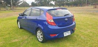 2011 Hyundai Accent RB Premium Blue Ocean 4 Speed Sports Automatic Hatchback