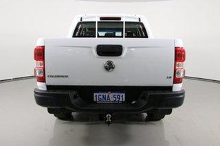 2017 Holden Colorado RG MY18 LS (4x4) White 6 Speed Manual Crew Cab Pickup