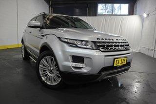 2013 Land Rover Range Rover Evoque L538 MY13 TD4 CommandShift Prestige Silver 6 Speed.