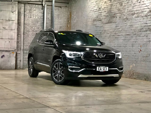 Used Holden Acadia AC MY19 LTZ-V AWD Mile End South, 2019 Holden Acadia AC MY19 LTZ-V AWD Black 9 Speed Sports Automatic Wagon
