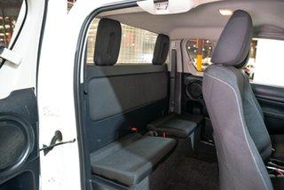 2017 Toyota Hilux GUN126R SR Extra Cab White 6 Speed Manual Utility