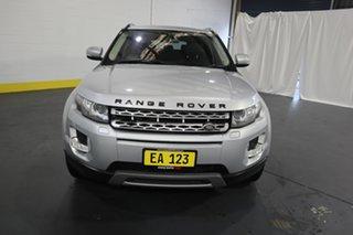 2013 Land Rover Range Rover Evoque L538 MY13 TD4 CommandShift Prestige Silver 6 Speed