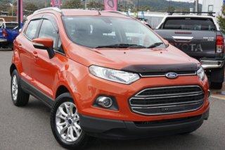 2013 Ford Ecosport BK Titanium Orange 5 Speed Manual Wagon.